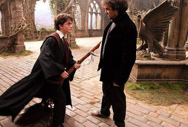 ⚡️ 15 архивных фото со съемок «Гарри Поттера»