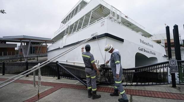 """В США продолжаются наводнения, вызванные ураганом """"Салли"""""""