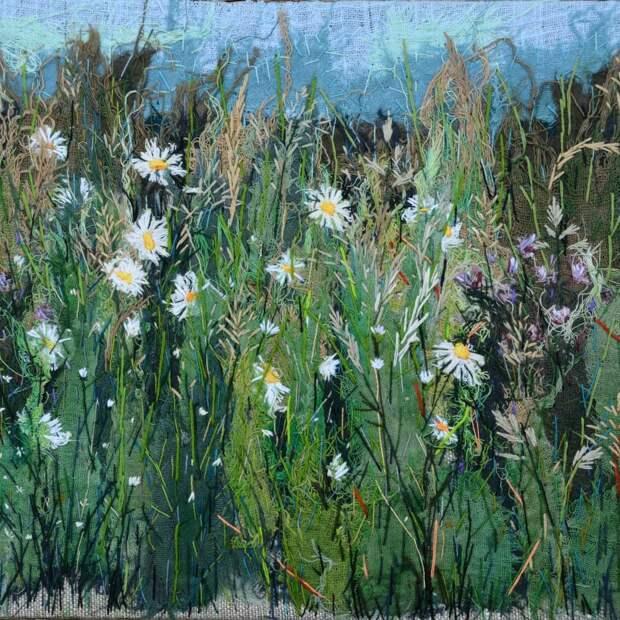 Текстильные панно и брошки от Ольги (naturestitchedart) из Пскова