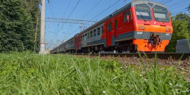 В августе изменится расписание электричек Ленинградского направления