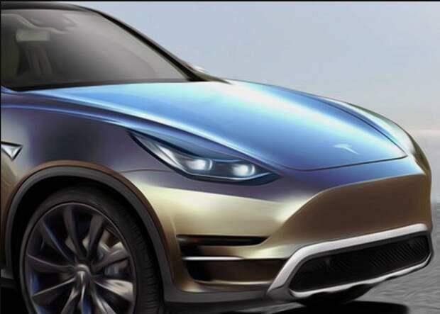 Маск скоро представит новый электрокроссовер Model Y