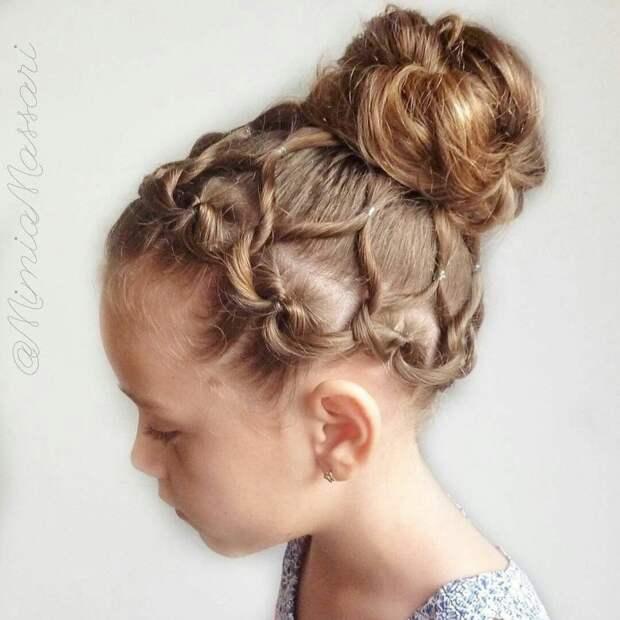 Прически с косами (подборка)