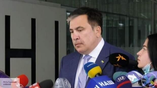 Саакашвили: В случае закрытия телеканалов война на Донбассе усилится