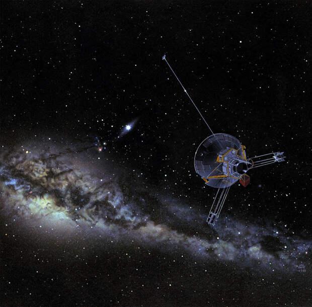 Мимо каких далеких звезд смогут когда-нибудь пролететь «Вояджеры» и другие космические долгожители