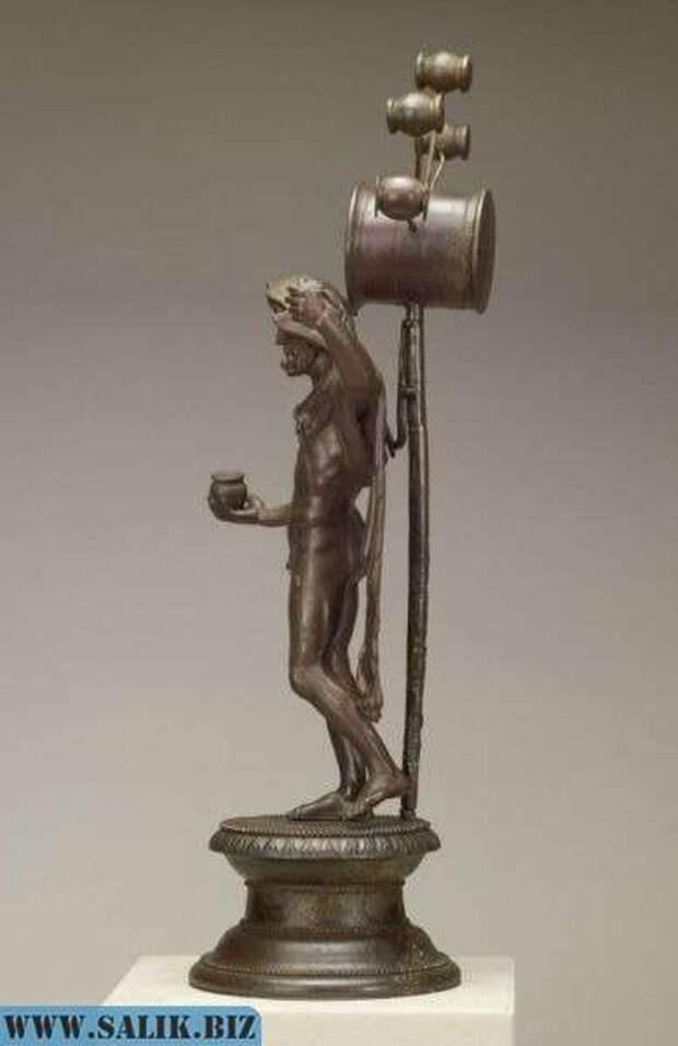 Неизвестный прибор на древней статуэтке