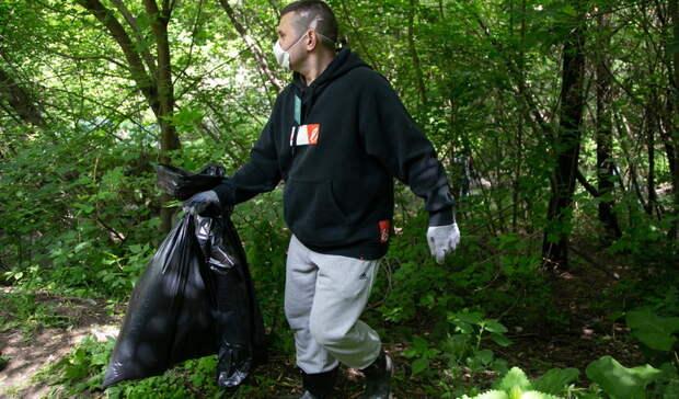 Горожане собрали 42 кубометра мусора стерритории одного изомских округов