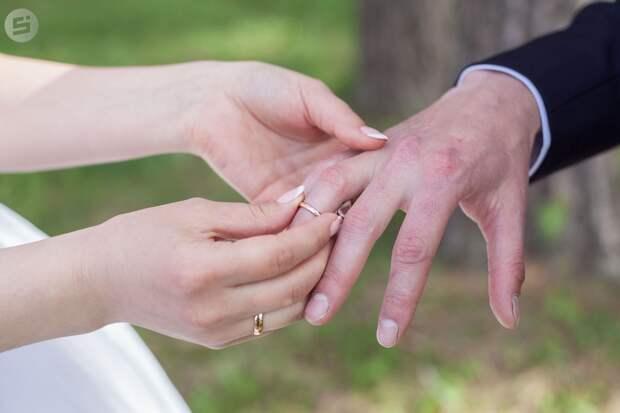 Право на любовь: молодожены Удмуртии смогут зарегистрировать брак в неделю карантина