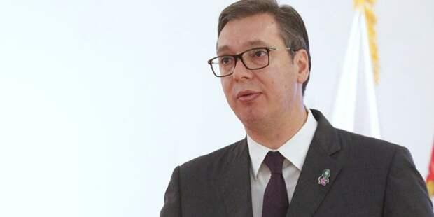 Президент Сербии выразил благодарность России