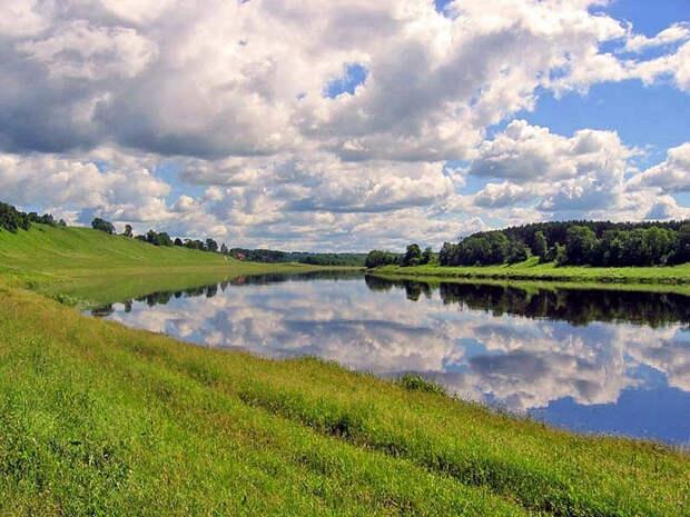 Река Волга, фотография