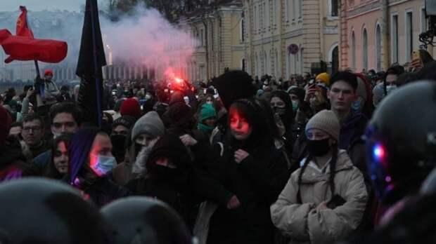 МВД возбудило первое уголовное дело против участника незаконного апрельского митинга
