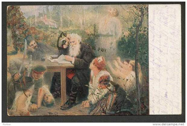 Десять портретов Льва Толстого - от фото с войны до фрески в храме