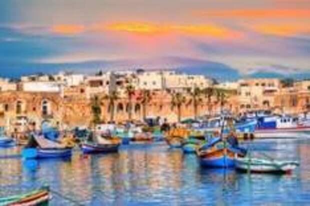 В 2018 Мальта приняла 29 тысяч туристов из России
