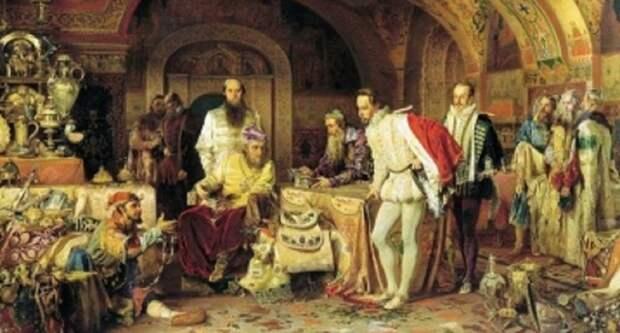 Первые попытки англосаксов оккупировать и ограбить Россию в XVI - XVII вв.