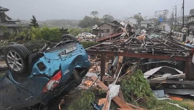 В Японии число жертв тайфуна Хагибис увеличилось до 66 человек
