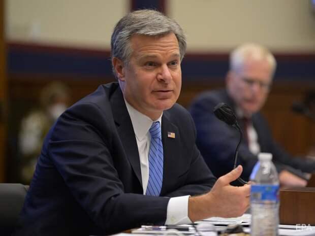 Директор ФБР: Россия продолжает пытаться влиять на выборы в США
