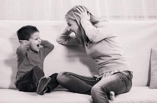Последствия крика на детей