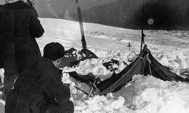 Место трагедии 1959 года. Фото:Вадим Брусницын. Википедия.