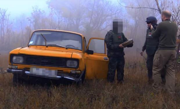 Противотанковая мина против Москвича: саперы сняли на видео эксперимент на полигоне