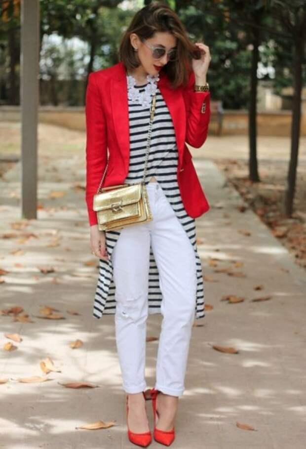 цветовая гамма морского стиля в одежде