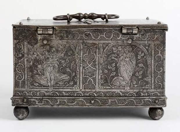 3. Шкатулка. Сталь. Германия, примерно 1570 — 1600 г. искусство, история, факты