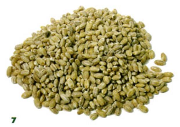 Перловка и пшеница