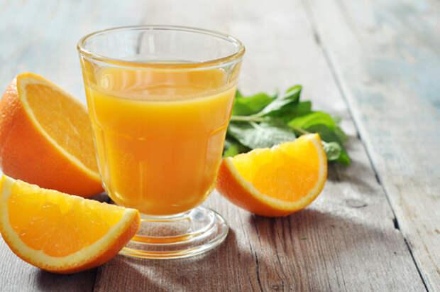 Апельсины очищают легкие