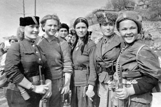 женщины в ВОВ
