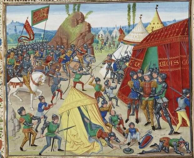 Рыцари Столетней войны: первая униформа