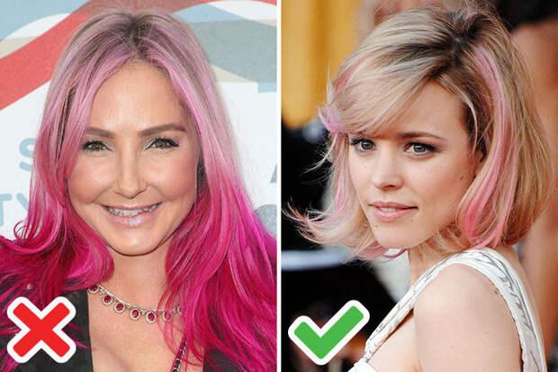 Цвет волос, который старит: 5 ошибочных вариантов и модные альтернативы.