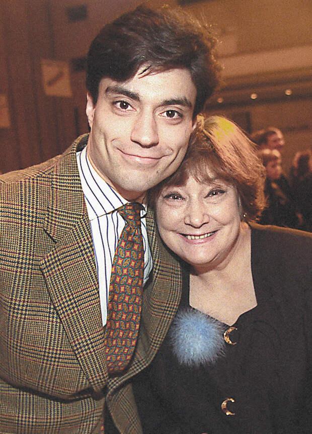 Татьяна Самойлова с сыном Дмитрием.