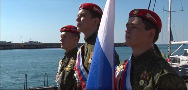 Яхтенный поход «Юнармейская миля – 2020» стартовал в Ялте