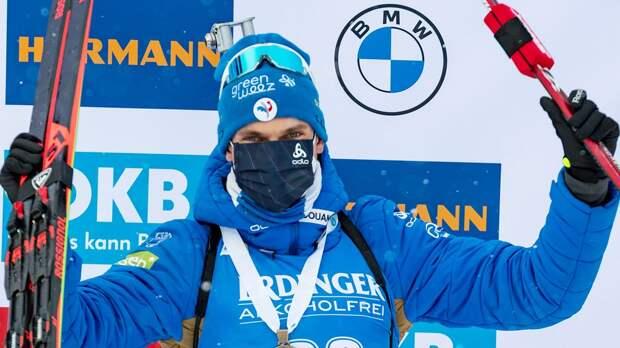 Жаклен выиграл гонку преследования на ЧМ по биатлону, Латыпов — 7-й