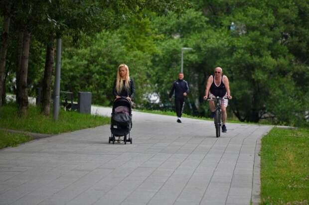 Собянин: Северный речной вокзал станет одним из лучших мест отдыха в Москве Фото Денис Афанасьев