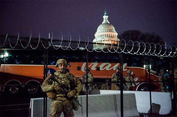 ФБР ожидает мятежа Нацгвардии на инаугурации Байдена