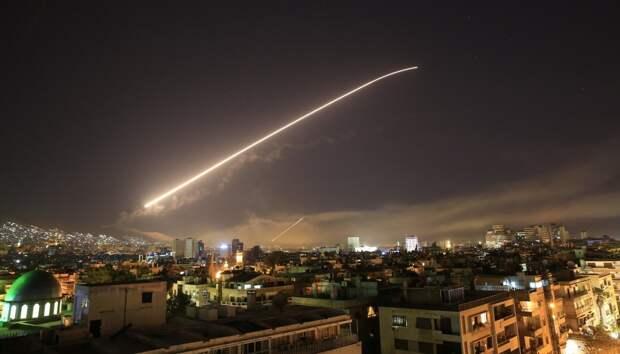 В результате ракетного удара Израиля по Сирии погибли четыре человека