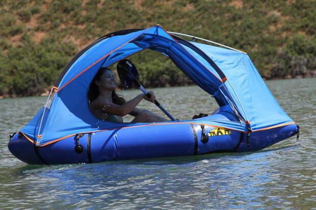Traft – настоящая находка для любителей сплавляться по рекам. /Фото: icdn5.digitaltrends.com