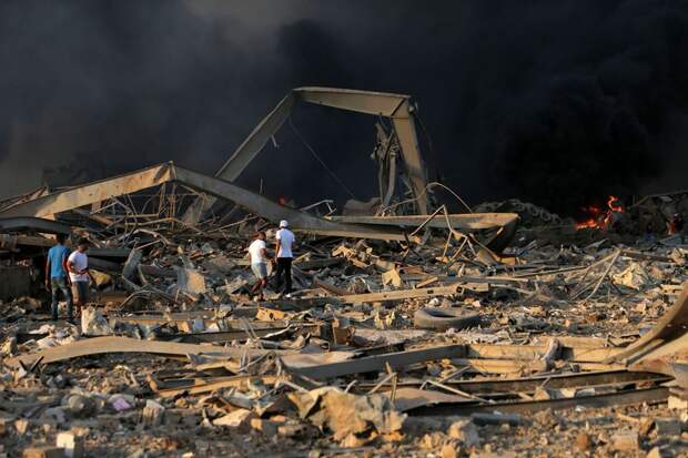 7 главных фактов о взрыве в Бейруте, который разнес половину города
