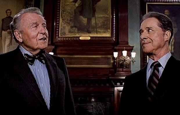 Дон Амичи и Ральф Беллами. | Фото: 50ism.com