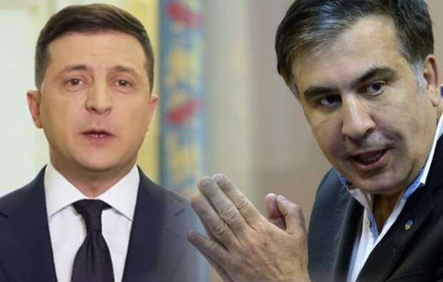 Зеленский назначил Саакашвили главой комитета по реформам на Украине