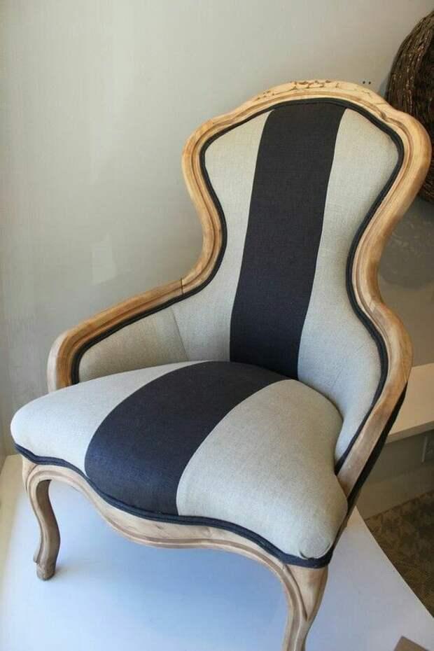 Как обновить мягкое кресло (идеи)