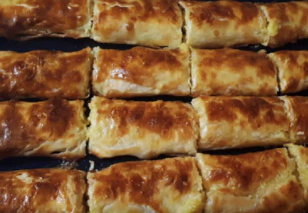 Пирожки из подручных продуктов: готовим за 20 минут, съедают за 5