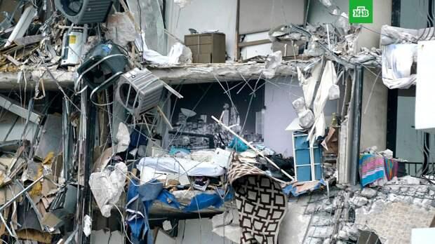 Возросло число погибших при обрушении жилого дома во Флориде