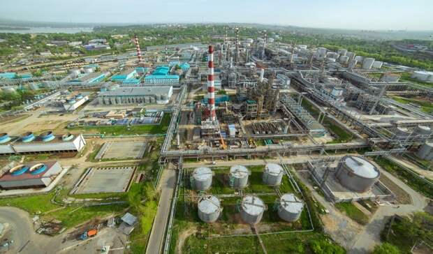 ННК наращивает мощности Хабаровского НПЗ до15млн тонн вгод