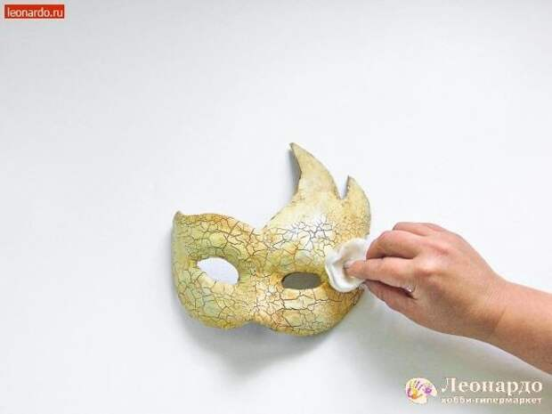 "Декупаж ""Венецианская маска"""