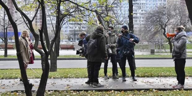 Собянин принял решение о поддержке молодых режиссеров, снимающих фильмы о Москве. Фото: Ю. Иванко mos.ru