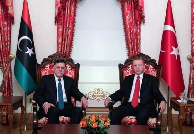 Эрдоган намерен продолжить экспансию Турции в Ливии