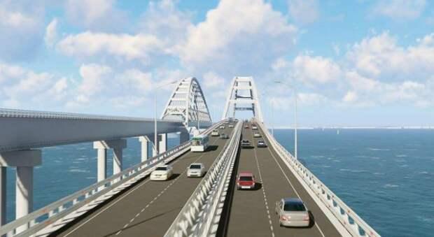 Сколько автомобилей проехали по Крымскому мосту в июне?