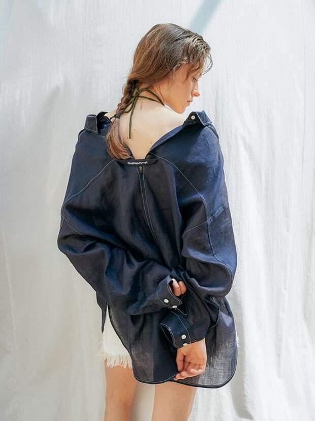 Идеи для спинок блузок