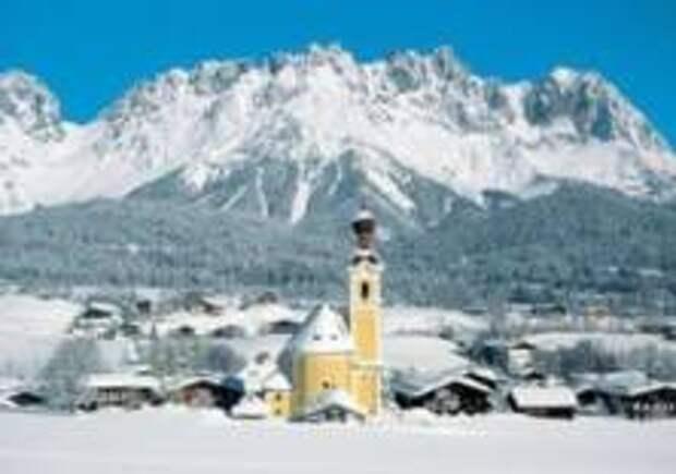 В Тироле закончился снегопад