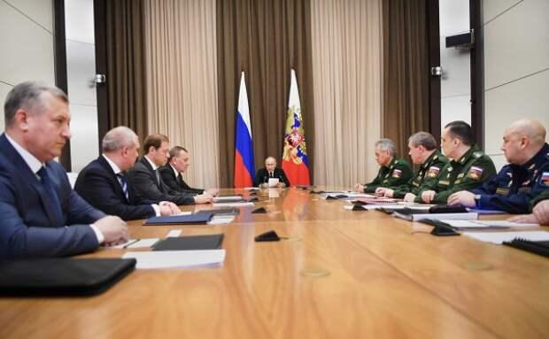 Путин сообщил о создании нового (практически неуязвимого) пункта управления ядерными силами